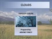 Clouds - Types