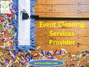 Event Cleaning Services | Professional Cleaning Services in Vadodara