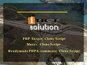PHP Target Clone, PHP Target Script, Readymade PHP  E-commerce Clone,