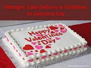 Midnight Cake Delivery in Faridabad on Valentine Day