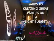 7 tips to creating great parties on a tight budget
