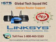 Linksys Router [Support] USA 1-800-463-5163