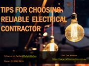 Electrical Contractors in Melbourne - Right Connection Electrical