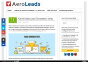 Clever Sales Lead Generation Ideas