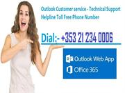 Outlook Technical Support Number Ireland +353 21 234 0006