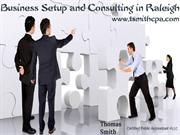 Business Setup and Consulting in Raleigh