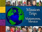 Mission Trip To Mexico