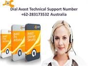 Dial Avast Technical Support Number +62-283173532 Australia