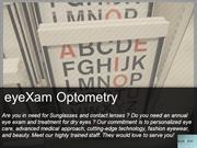 Optometrist in Silicon Valley