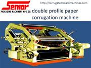 double profile paper corrugation machine-corrugatedboardmachine-double