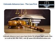Colorado Advance Law - The Law Firm
