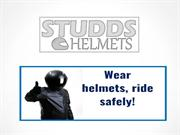 Stylish and ISI marked Studds Helmets - Best Price