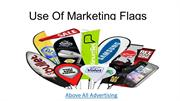 Various Use Of Marketing Flags