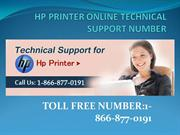 Online Technical Support For HP Printer
