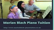 Childrens piano lessons Marion Blech Piano Tuition