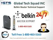 Fix your WAP and WEP with Belkin Router support  (800)463-5163