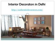 Interior Decorators in Delhi