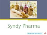 Herbal Soaps Manufactures - Syndy Pharma