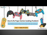 Top 3 technical issues that you may face with Pogo games