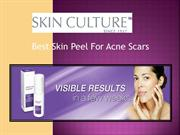 Best Skin Peel For Acne Scars