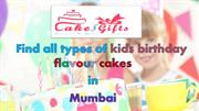 Find all flavour online cake delivery in Bandra West Mumbai