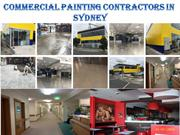 Commercial Painting Commercial Painting Contractors in Sydneyin Sydney