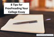 8 Tips for Proofreading Your College Essay