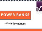 Promotional Power Banks | Vivid Promotions