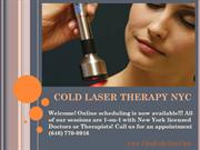 Cold Laser Therapy Manhattan - Cold Laser Therapy NYC