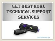 Get Best Roku Technical Support Services
