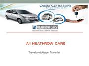 Heathrow taxi service