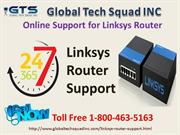 Linksys Router Support Toll Free 1-800-463-5163