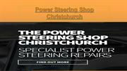 Power Steering Shop Christchurch