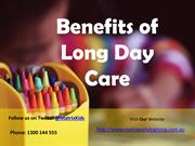 Benefits of Long Day Care - Matrix Early Learning
