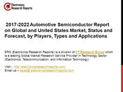 2017-2022 Automotive Semiconductor Report