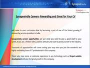 Synapseindia Careers - Offering Friendly working Environment