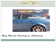 Mag Wheels Painting Services in Salisbury
