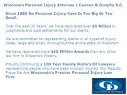 Personal Injury Attorney Wisconsin Cannon Dunphy | Cannon Dunphy