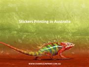 Stickers Printing in Australia - Chameleon Print Group