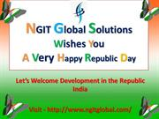 happy republic day to all IT jobs candidates by NGIT Global Solutions