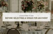 Tips to Select a Venue for an Event
