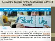 Accounting Services for Startup Business in United Kingdom