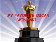my favourite Oscar winner by Melisa Siri