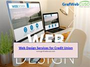 Web Design Services for Credit Union