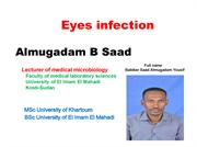 Eyes infection