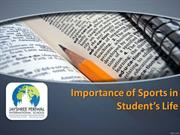Importance of Sports in Student's Life - JPIS