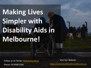 Disability Aids in Melbourne - Health and Mobility
