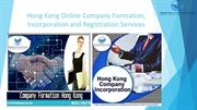 Hong Kong Online Company Formation, Incorporation and Registration