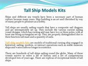 Tall ship models kits