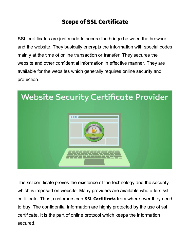 Buy Ssl Certificate In India Authorstream